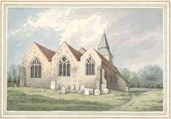 [View of Upchurch Church]